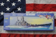 DF-013 USS MISSOURI US Navy Battleship 1:900
