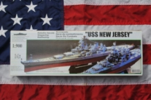 DF-012 USS NEW JERSEY US Navy Battleship 1:900