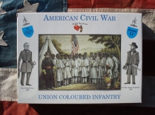 A CALL to ARMS 3211  UNION COLOURED INFANTRY Amerikaanse burgeroorlog