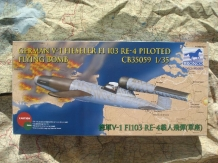 "Bronco Models CB35059  V-1 FIESELER Fi103 Re-4 Flying Bomb ""Piloted"""