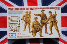 TAM32409 WWI BRITISH INFANTRY with Small Arms & Equipment