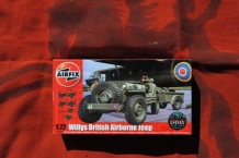 Airfix A02339 Willys British Airborne Jeep WWII
