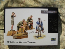 Master Box LTD 3559  AfrikaKorps: German Tankman