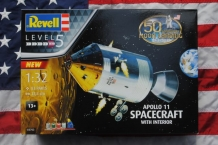 Revell 03703 Apollo 11 SPACECRAFT with Interior