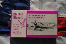 Merlin Models 28 BEECHCRAFT 17 STAGGERWING