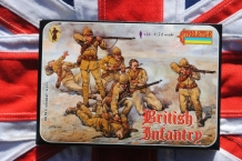 Strelets*R 0038 British Infantry 'Colonial Wars'