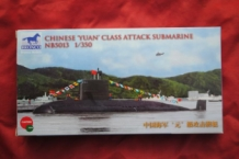 "BRONCO NB5013 Chinese ""YUAN"" Class Attack Submarine"