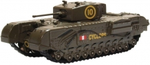 Oxford 76CHT005 Churchill Tank '51st RTR 1942'