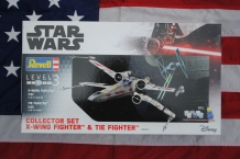 Revell 06054 COLLECTOR SET - X-WING FIGHTER & TIE FIGHTER Star Wars