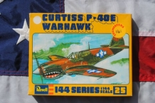 Revell H-1025 Curtiss P-40E Warhawk