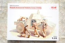 ICM 35615 French Armoured Vehicle Crew 1940
