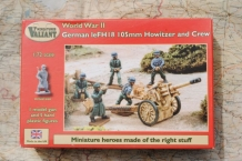 Valiant miniatures VM007 German leFH18 105mm Howitzer and Crew
