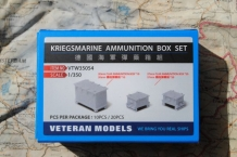 Veteran models VTW35054 Kriegsmarine Ammunition Box Set