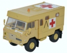 Oxford 76LRFA001 Land Rover 101 FC Ambulance 'Gulf War 1991'