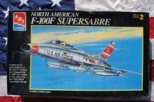 AMT ERTL 8892 North American F-100F SUPERSABRE