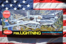 Guillow's 2001 P-38L LIGHTNING WWII Fighter