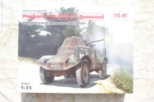 ICM 35375 Panhard 178 AMD-35 Command WWII French Armoured Vehicle