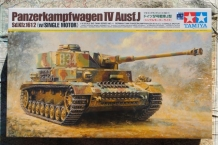 Tamiya 36211 Panzerkampfwagen IV Ausf.J Sd.Kfz.161/2 with SINGLE MOTOR