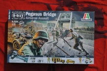 Italeri 6194 Pegasus Bridge Airborne Assault D-Day 6th June 1944 Normandië
