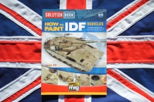 Ammo by Mig 6501 SOLUTIO BOOK HOW to PAINT IDF Vehicles