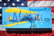 Guillow's 803 Stearman PT-17 WWII Pilot Trainer
