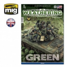 Ammo by Mig 4528 The WEATHERING Magazine 'GREEN'