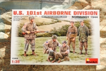 Mini Art 35089 U.S. 101st AIRBORNE DIVISION 'NORMANDY 1944'
