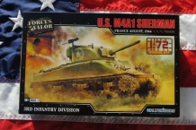 Forces of Valor 873004A U.S. M4A1 SHERMAN