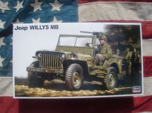 Hasegawa 24501 Jeep WILLY\'S MB
